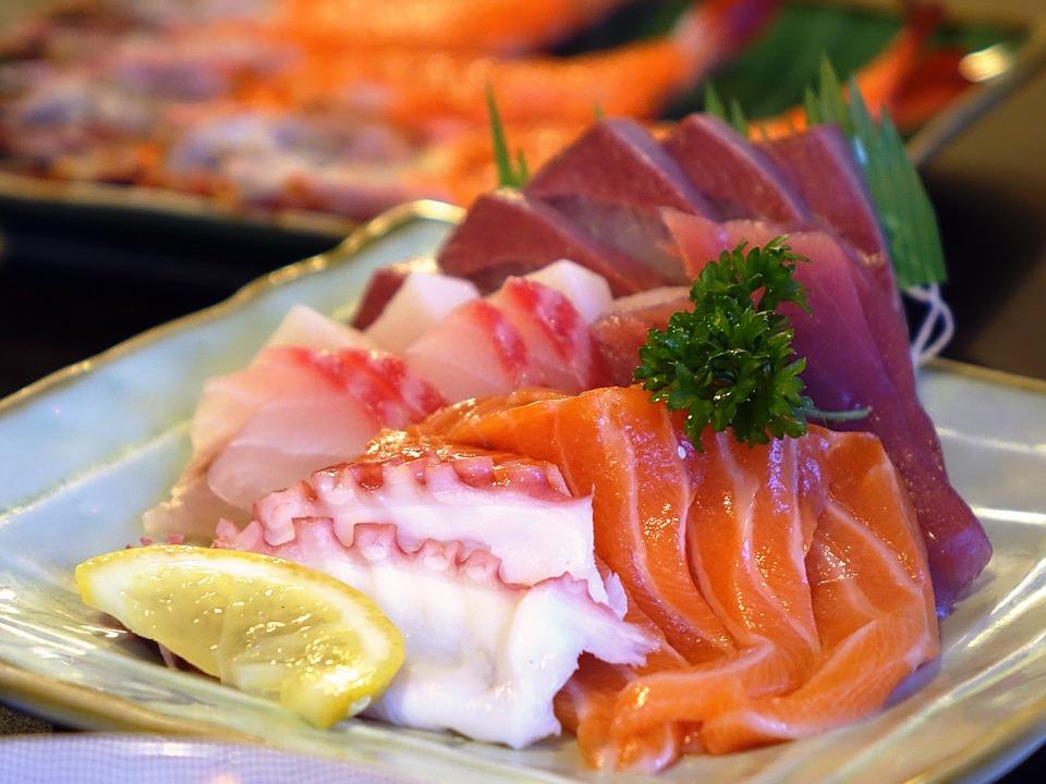 Pescado sushi timo mundial