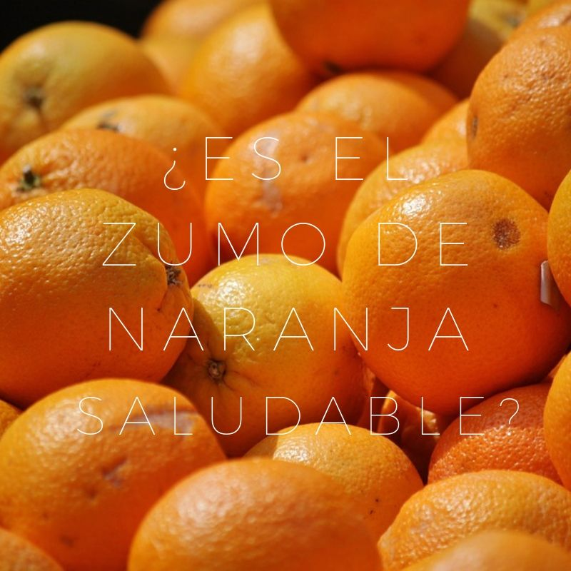 zumo de naranja azúcares
