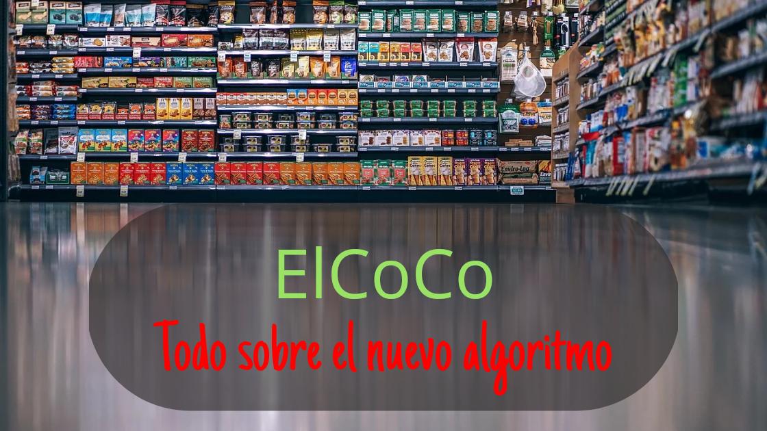 ElCoCo app nuevo algoritmo